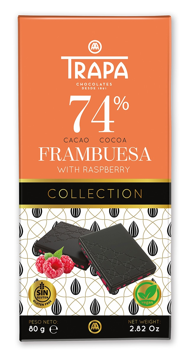 Collection 74% cacao Frambuesa