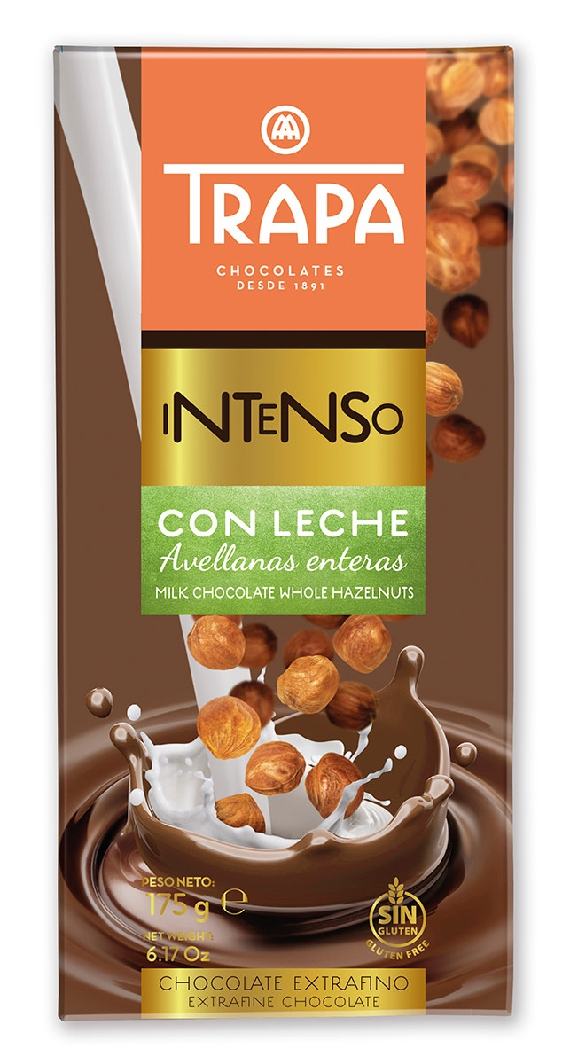 Intenso hazelnut milk